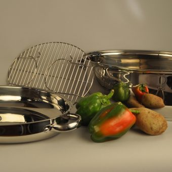 Precise Heat™ T304 Stainless Steel Roaster